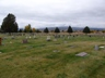 Fall Cemetery View